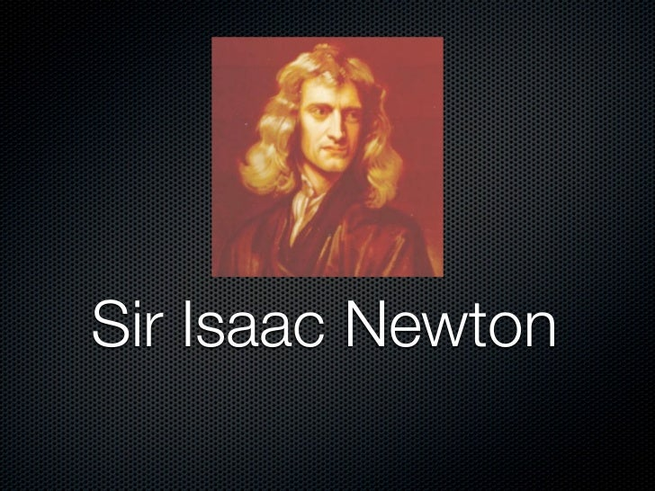Isaac biography pdf newton sir