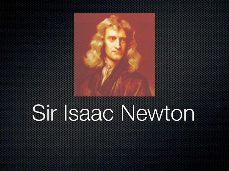 Isaac biography pdf newton sir