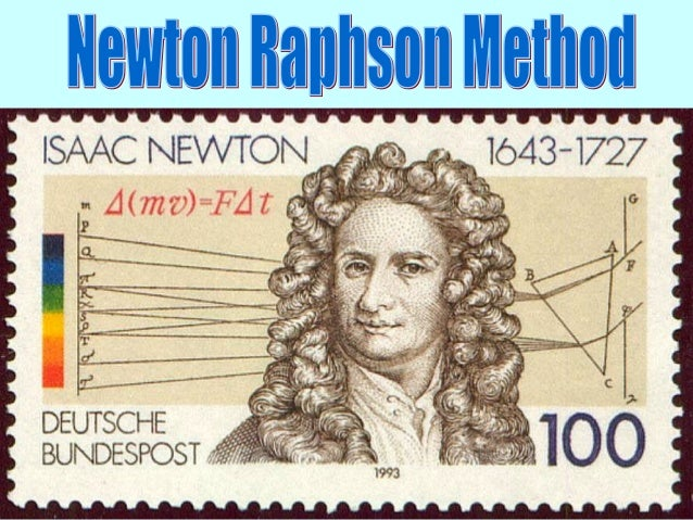 Newton-Raphson method, also known as the Newton's Method, is the simplest and fastest approach to find the root of a funct...