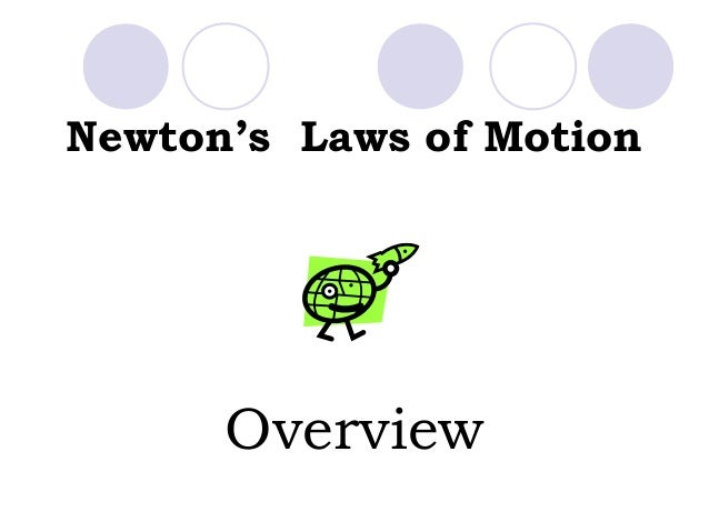 Newton's Laws of Motion Overview