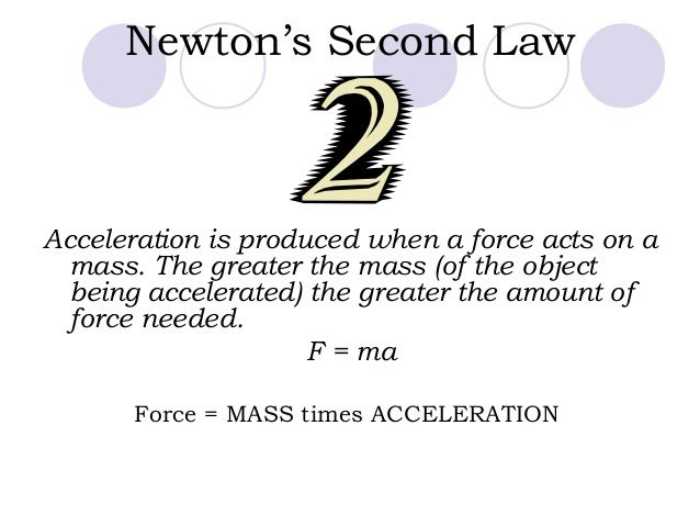 Newtons 2nd law of motion[1]