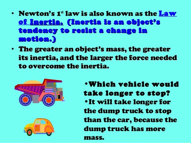 Mass Car Seat LawCori Newtons Laws 3 Of Motion