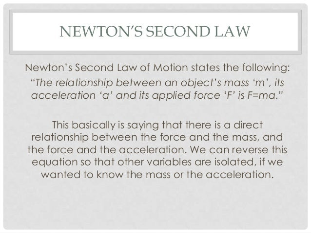 Newton's Laws of Motion: Explanation with Examples