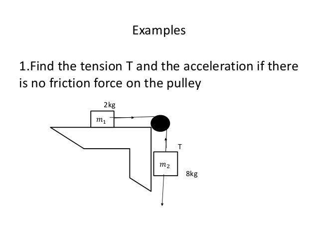 Newton's laws of motion lecture notes