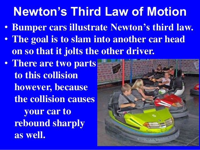 newtons laws and the car Using newton's laws effectively launching rockets the lift-off of a space shuttle is an example of an unbalanced force in action the space shuttle accelerates upwards from its launch pad.