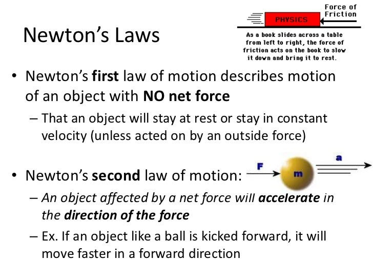 newton s second law 1 The first law could be viewed as just a special case of the second law for  if  an object is at rest in one frame of reference, it will appear to be moving in a.