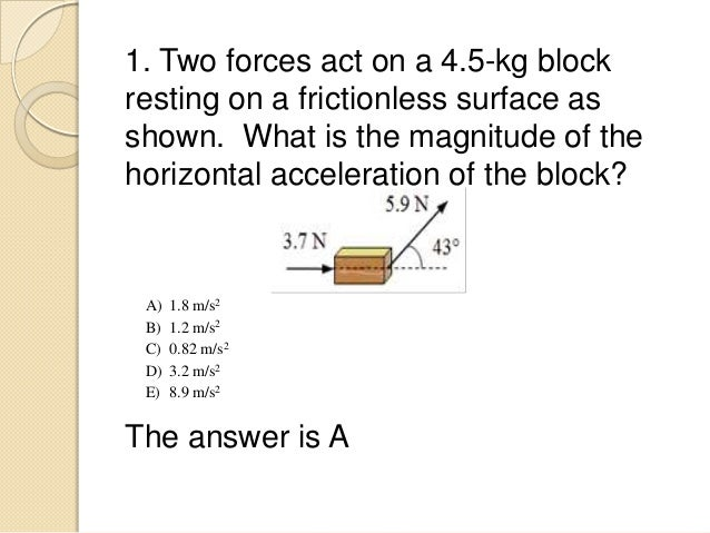 Printables Of Newton S Second Law Problem Solving Worksheet