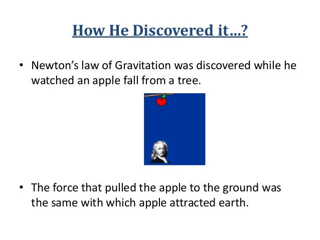 newtons laws of universal gravitation and Newton's universal law of gravitation equation consider two bodies of masses m 1 and m 2 the distance between the centers of masses is raccording to the law of gravitation ,the gravitational force of attraction f with which the two masses m 1 and m2 separated by a distance r attract each other is given by.