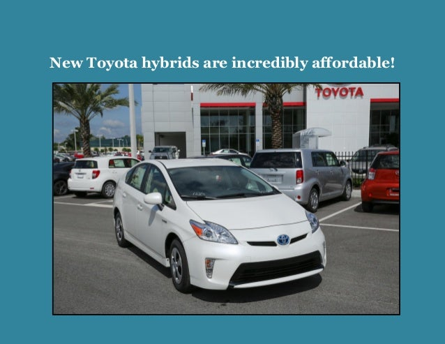 New Toyota hybrids are incredibly affordable!