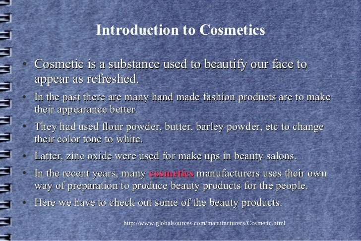 New trend in cosmetics Slide 2