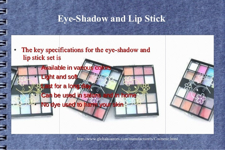 New trend in cosmetics Slide 3
