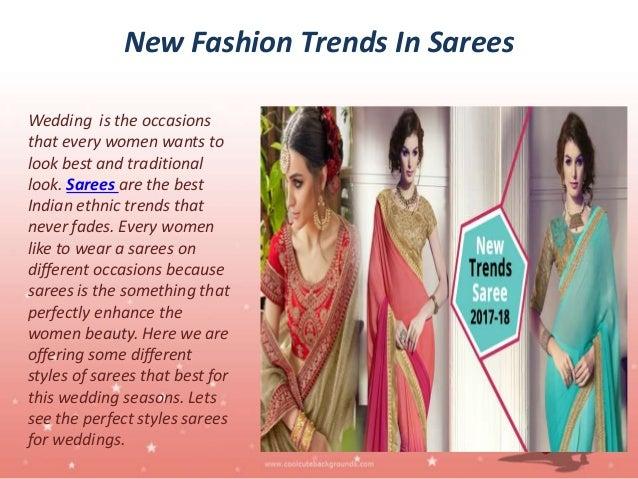 New Trends Designer Sarees And Lehenga Cholis Online 2017 2018