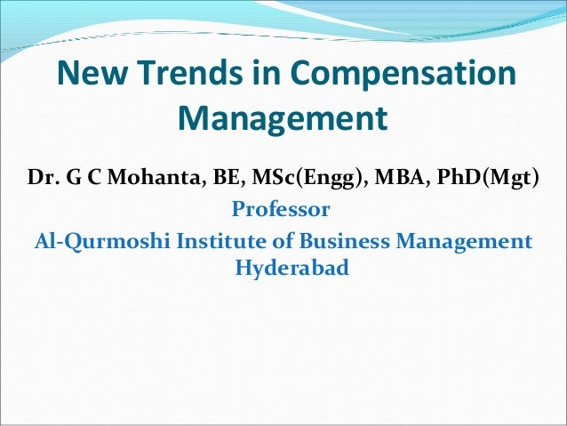 recent trends in compensation This slide describes about recent trends that have been emerged in the corporate world to have mutual excellence of the company as well as employees.