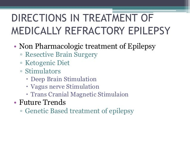 New Trends in Epilepsy Management