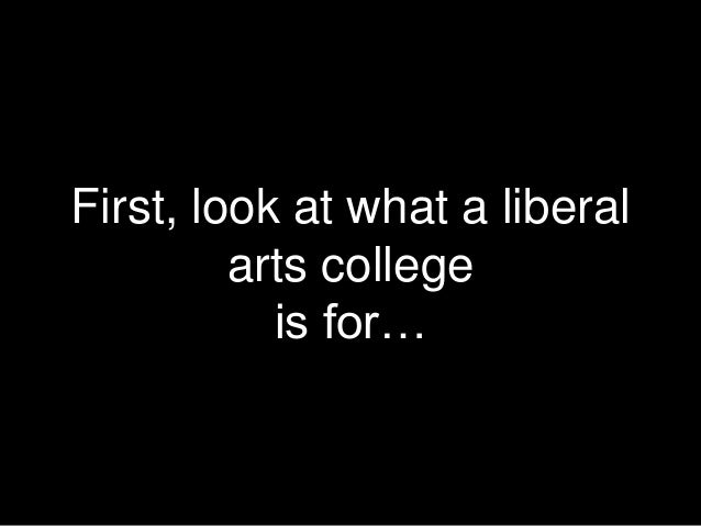 the new liberal arts Liberal arts provides more well-rounded education compared to career education liberal arts education good for all socio-economic backgrounds author establishes.