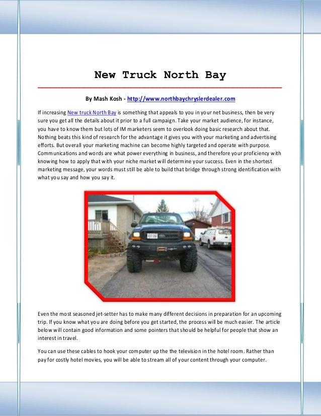 hook up north bay