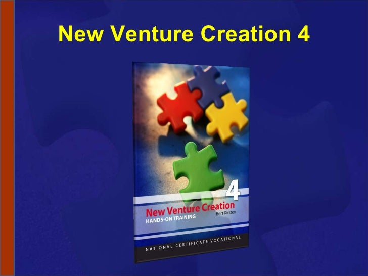 New Venture Creation 4
