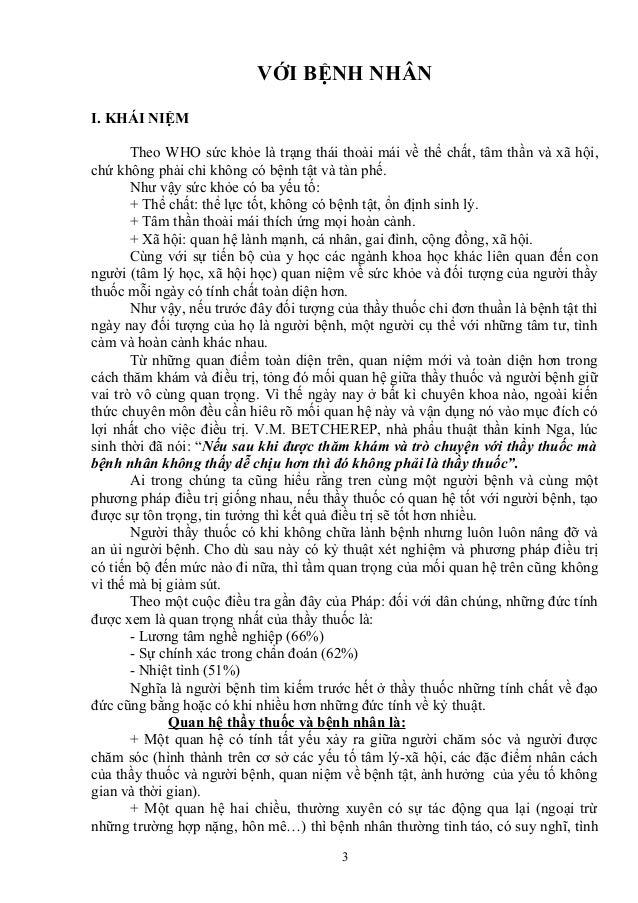 Thăm Khám Bệnh Nhân Tâm Thần_Quan Hệ Thầy Thuốc Và Bệnh Nhân Slide 3