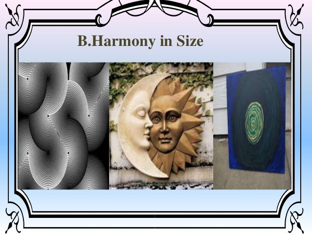 Examples Of Size In Art