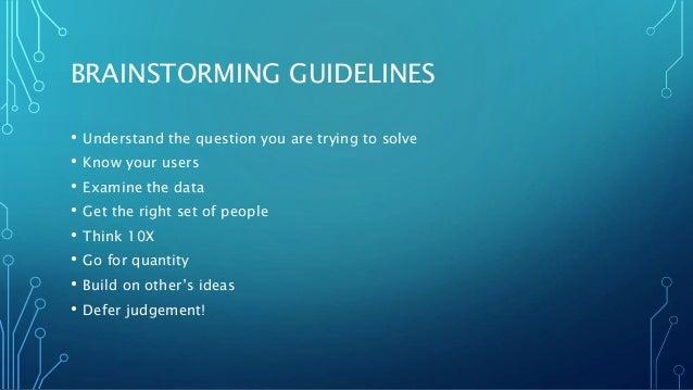 New ways to brainstorm Slide 3