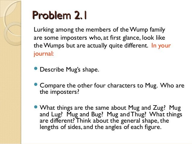 Quarter 2: Week 2  Warm-up Wednesday Use the rectangle to answer the questions. 1. Give the length and width of a rectangl...