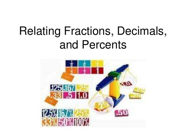 Relating Fractions, Decimals, and Percents