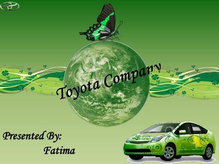 toyota company, Presentation templates