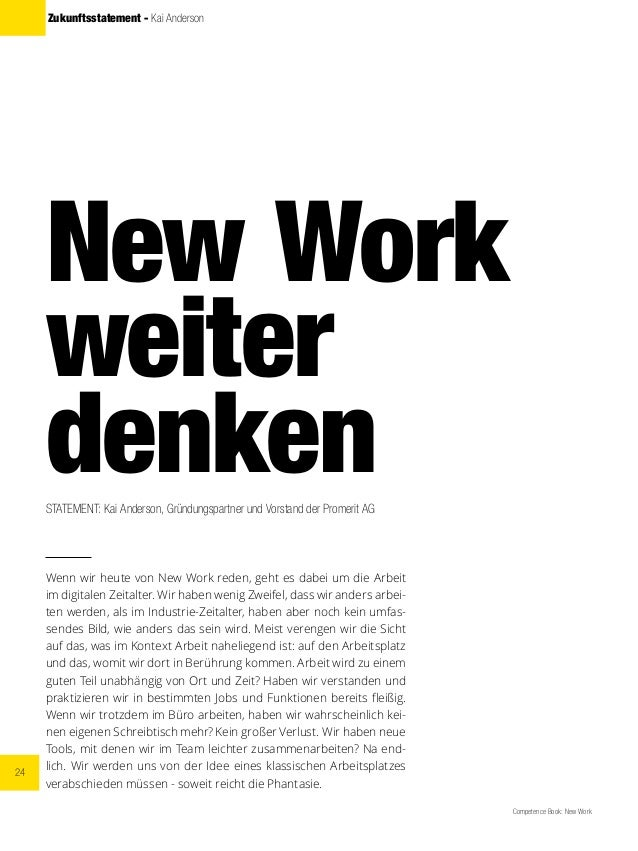 24 Competence Book: New Work Zukunftsstatement - Kai Anderson New Work weiter denkenSTATEMENT: Kai Anderson, Gründungspart...
