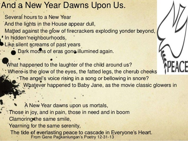 New Year Dawns Upon Us
