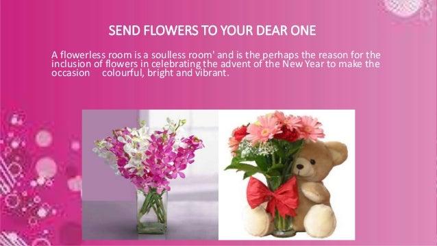 Send New Year Flowers to India - myflowergift