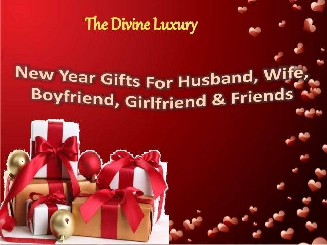 New Year Gifts For Husband, Wife, Boyfriend, Girlfriend ...