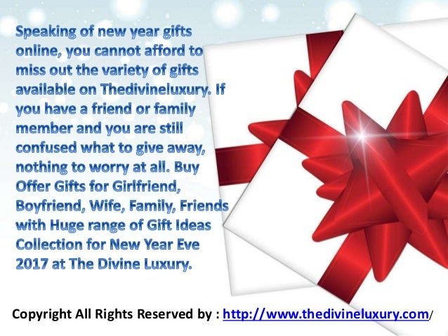 New Year Gifts For Husband, Wife, Boyfriend, Girlfriend ...