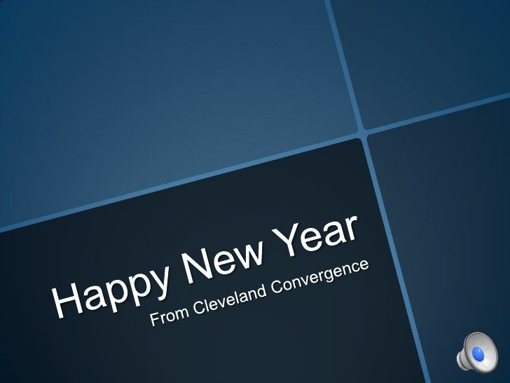 Happy New Year<br /> From Cleveland Convergence<br />