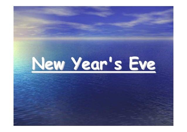 New Year's EveNew Year's Eve