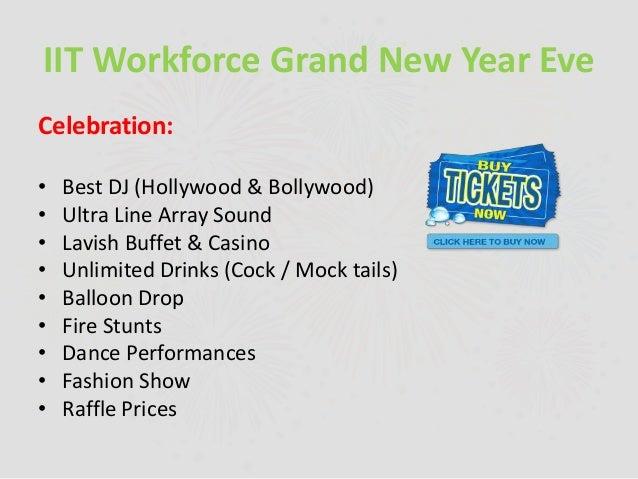 grand casino new years eve buffet