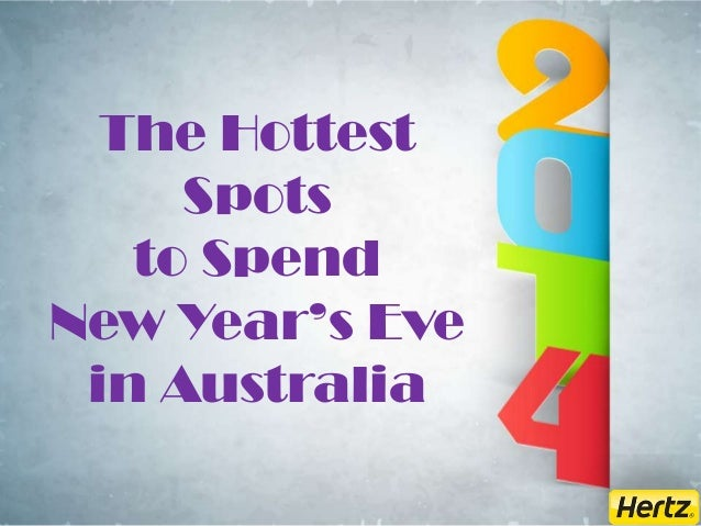 The Hottest Spots to Spend New Year's Eve in Australia