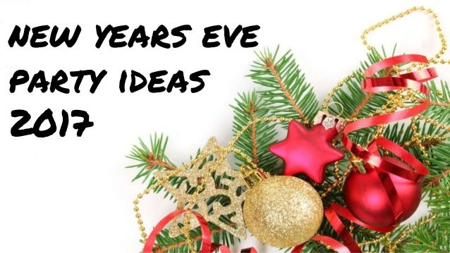 New years eve party ideas 2017 to decorate home - New years eve party at home ...