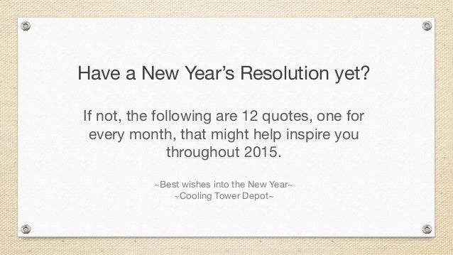 2015 New Year\'s quotes to inspire
