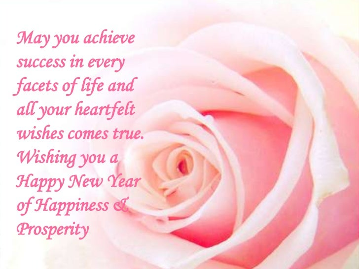 29 may you achieve success in every facets of life and all your heartfelt wishes comes true wishing you a happy new year