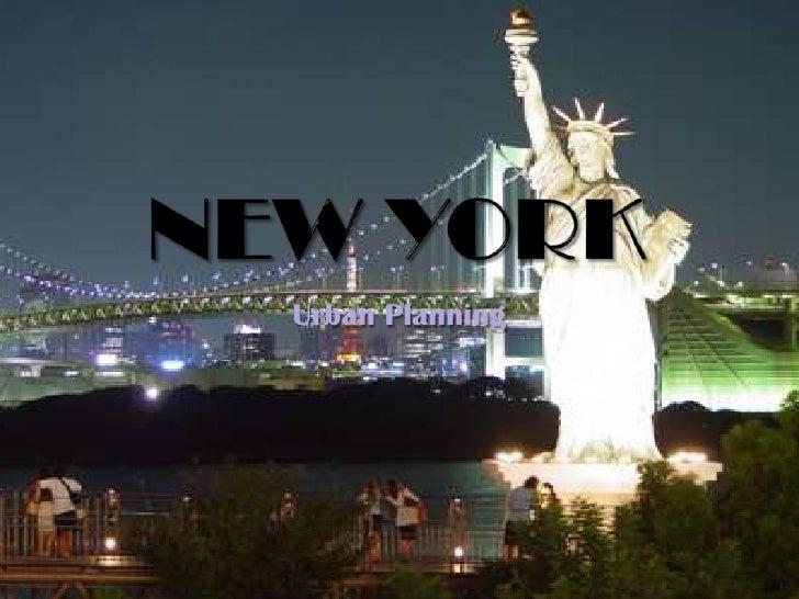 New York<br />Urban Planning<br />