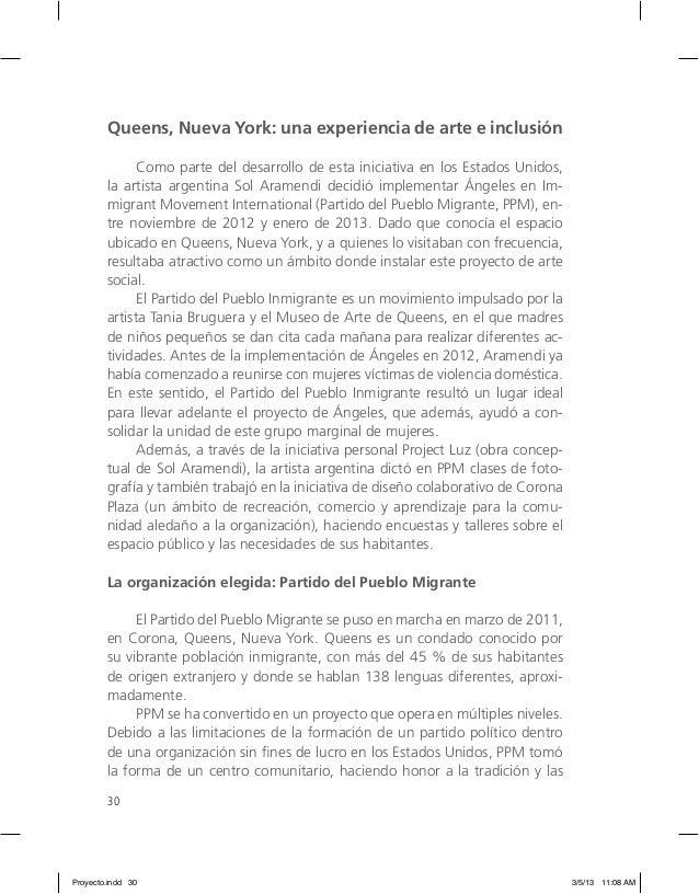 30 Queens, Nueva York: una experiencia de arte e inclusión Como parte del desarrollo de esta iniciativa en los Estados Uni...