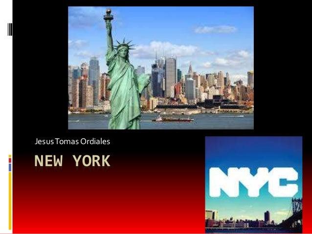 NEW YORK JesusTomas Ordiales