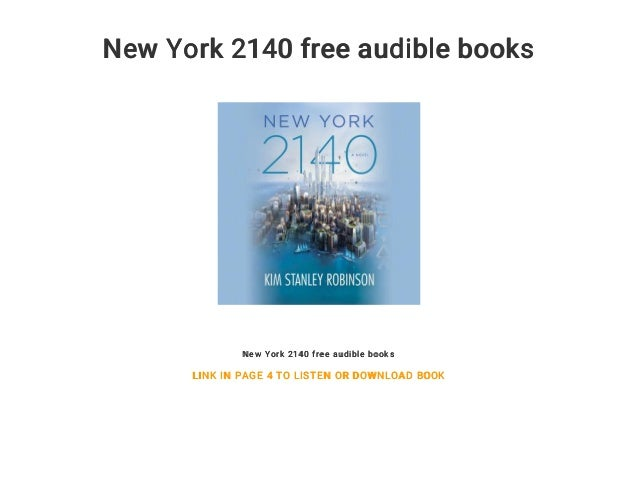 New York 2140 free audible books