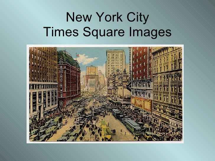 New York City Times Square Images