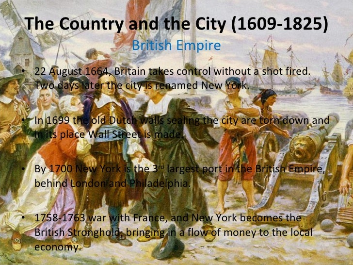 ... 3. The Country and the City (1609-1825) ...