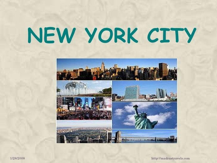 NEW YORK CITY1/28/2008            http://madrastravels.com