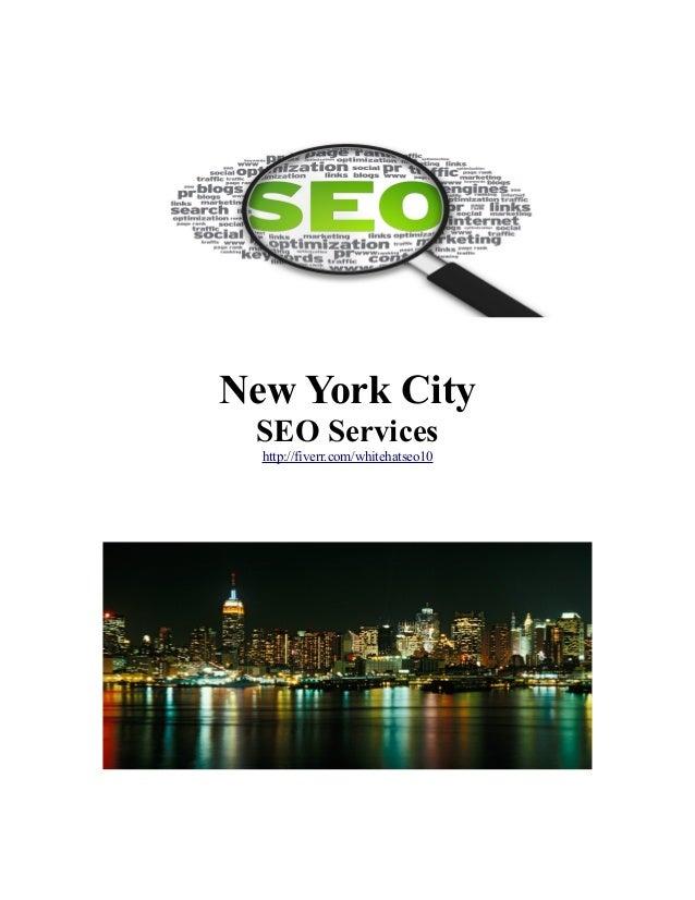 New York City SEO Services http://fiverr.com/whitehatseo10