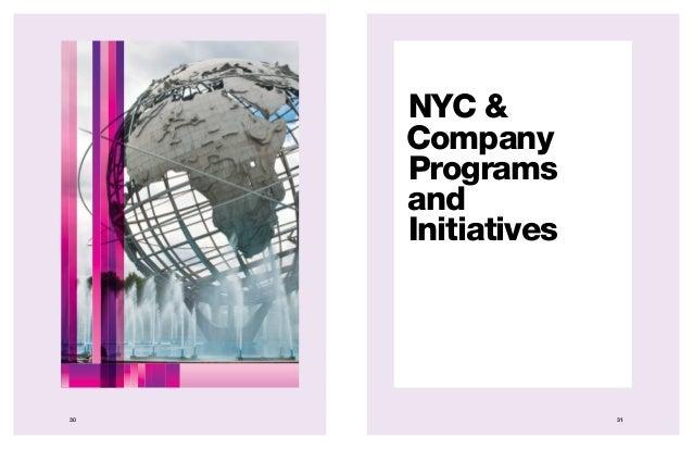 3130 NYC & Company Programs and Initiatives