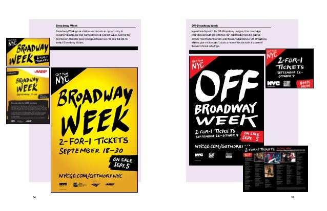 3736 Media Partner: Conditions apply. Broadway Week Broadway Week gives visitors and locals an opportunity to experience p...