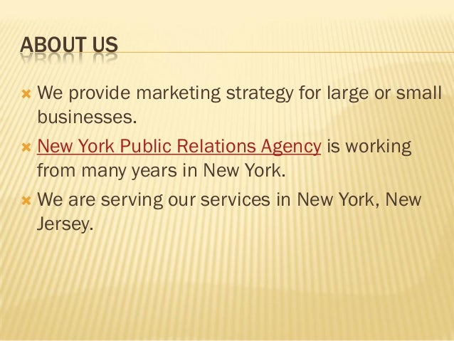 Top New York PR Firms & Agencies - Ranked by Revenues